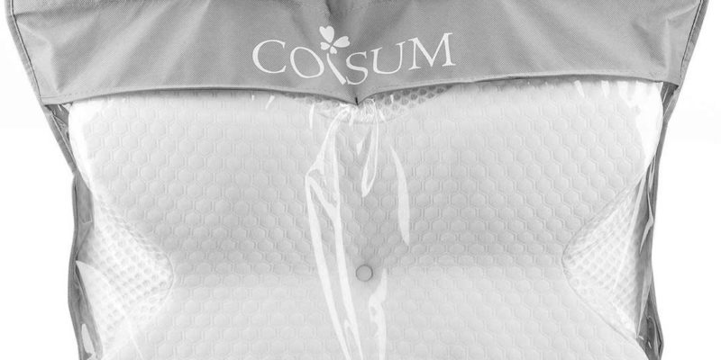 Coisum Back Sleeper Cervical Pillow featured - SleepSharp