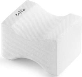 ComfiLife Orthopedic Knee Pillow for Sciatica Relief Back Pain - SleepSharp