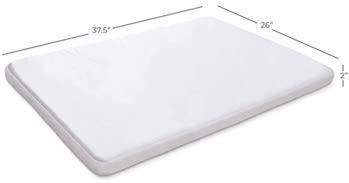 Milliard Memory Foam Pack N Play Mattress Topper - SleepSharp