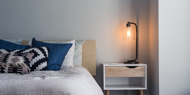 bed invention with a light bulb - SleepSharp
