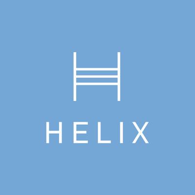 helix mattress logo - SleepSharp