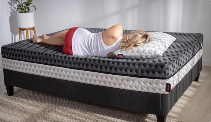 layla mattress pressure relief - SleepSharp