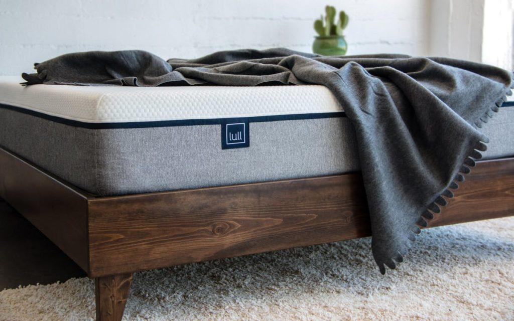 lull mattress wood platform - SleepSharp