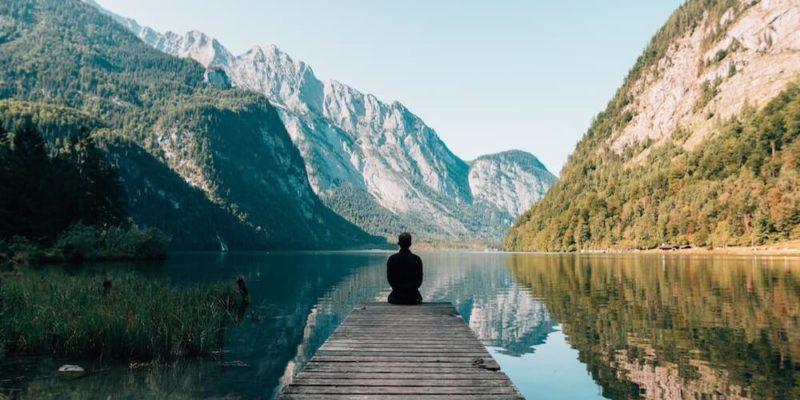 meditation on a bridge - SleepSharp