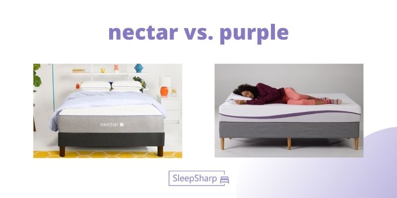 nectar vs. purple 1 - SleepSharp