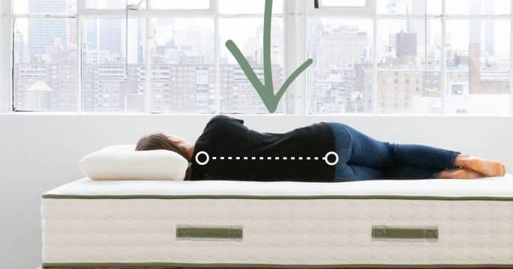 pressure relief back pain avocado mattress - SleepSharp