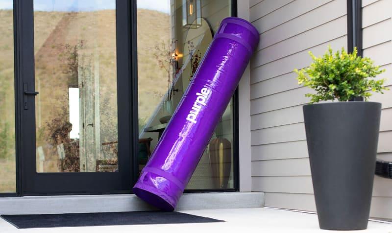 purple mattress doorstep roll - SleepSharp