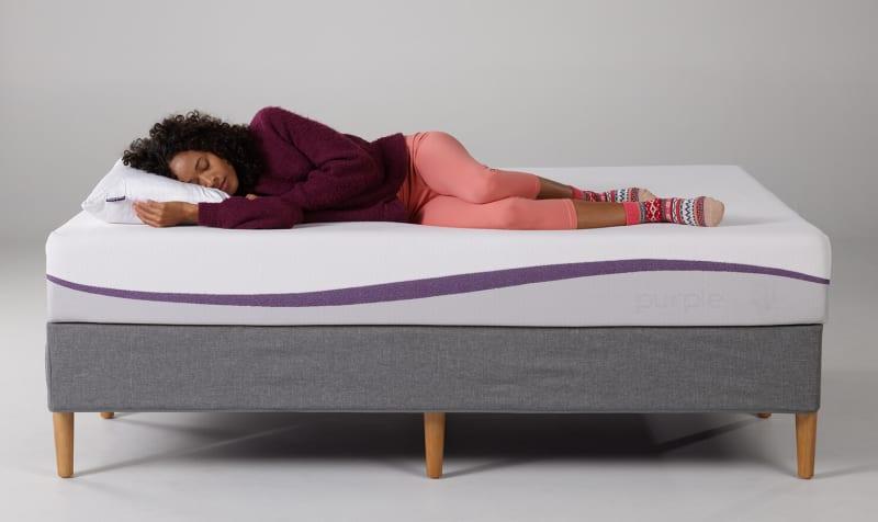 purple mattress side sleeper - SleepSharp
