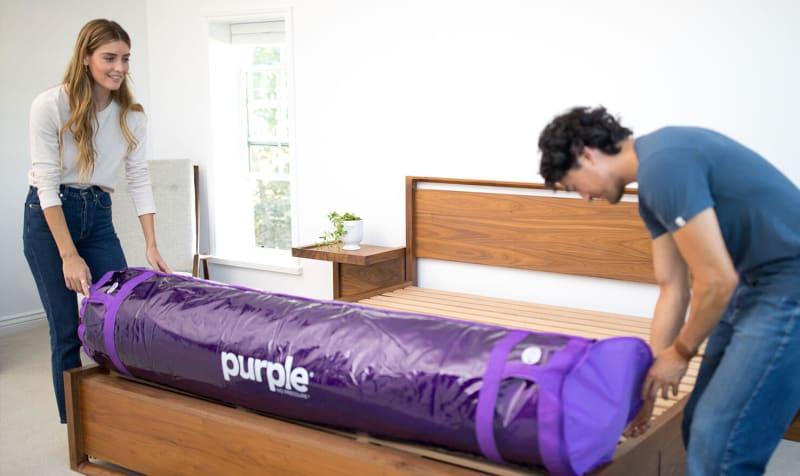 purple mattress unfold - SleepSharp