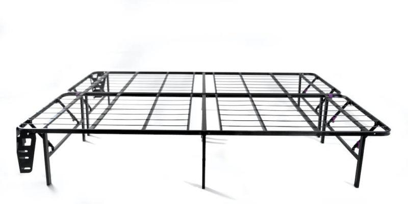 purple platform bed - SleepSharp
