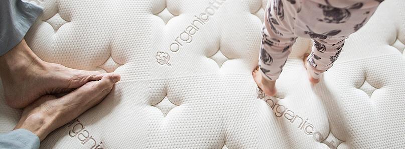 saatva organic cotton - SleepSharp