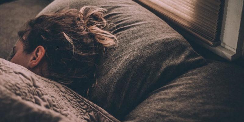 woman sleeping - SleepSharp